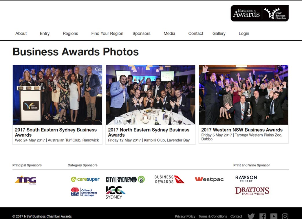 Business Annual Awards