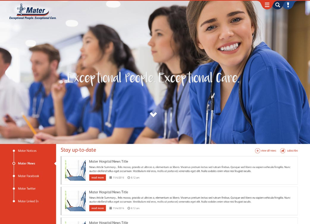 Mater Hospital Brisbane Intranet